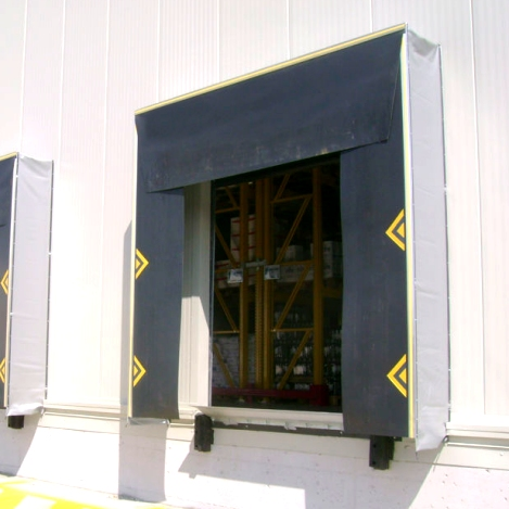 Cdc Repairs And Installs Loading Dock Shelters And Canopies