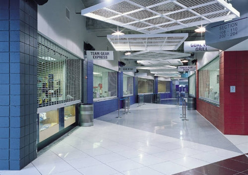 Cdc Installs And Repairs Commercial Rollup Security Grilles