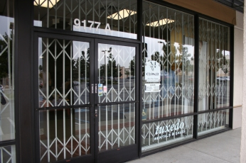 Cdc Installs Commercial Grade Scissor Gates For Storefronts