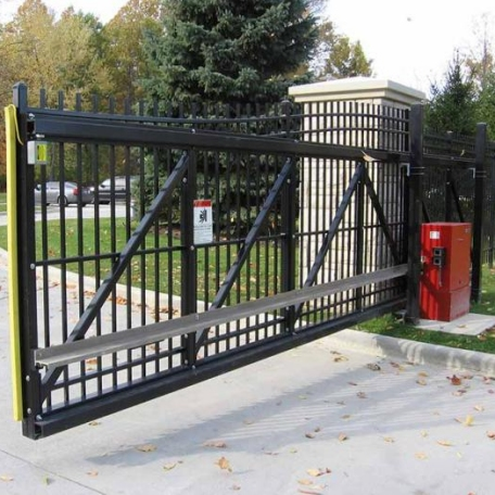 Cdc Installs And Repairs Commercial Sliding Gate Operators