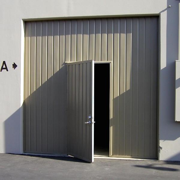 One Piece Counterweight Door Roll Up Doors Doors
