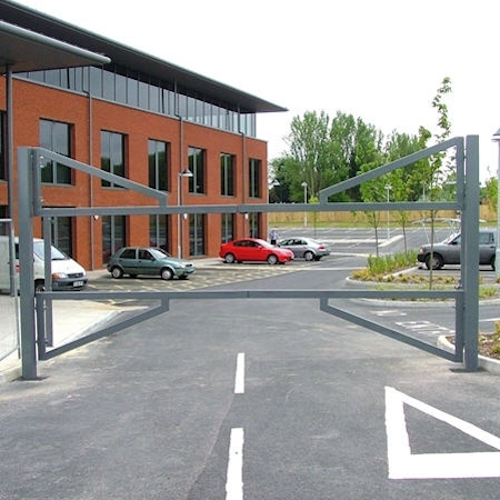CDC installs barrier gates and arm gates for parking lots