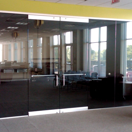Doors featuring HERCULITE® glass | Personnel Doors | Doors