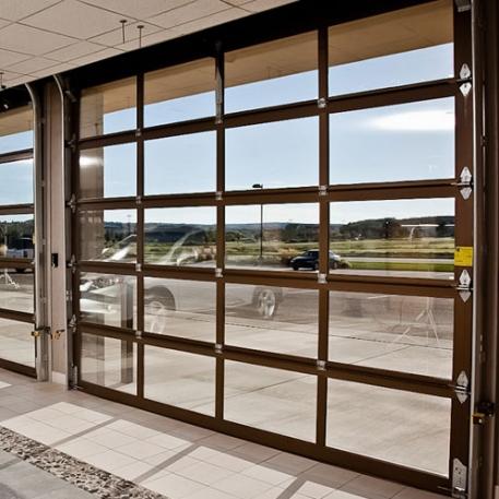 Nice Glass Sectional Door