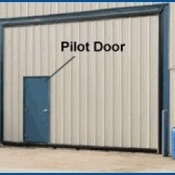 Pilot-Wicket Doors