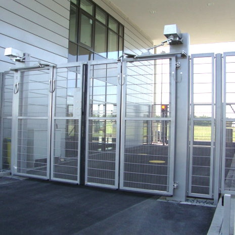 Cdc Installs And Repairs Swinging Outdoor Security Gates
