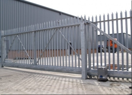 Cdc Installs And Repairs Commercial Side Sliding Gates