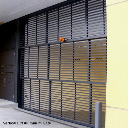 Cdc Installs Commercial Vertical Lift Aluminum Gates