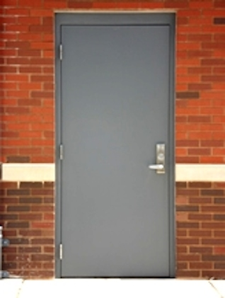 Cdc repairs and installs commercial personnel doors for Steel home entry doors