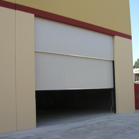 & Two Piece Counterweight Doors | Roll-Up Doors | Doors