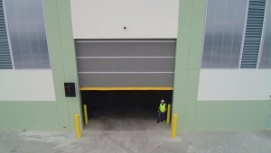 high speed roll up door installation
