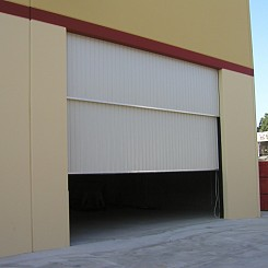Two Piece Counterweight Doors