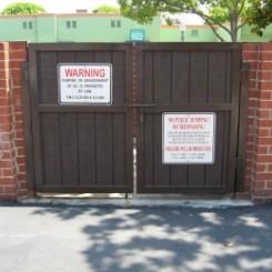 Dumpster Gates